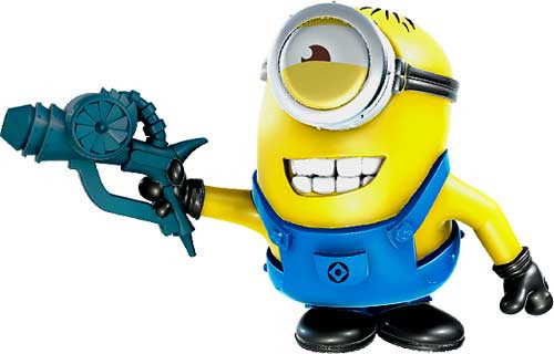 Despicable Me 2 Battle Pods Crack Shot Carl 1-Inch Micro Figure #35 [Loose]