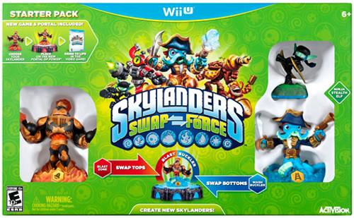 Skylanders Wii U Swap Force Starter Pack