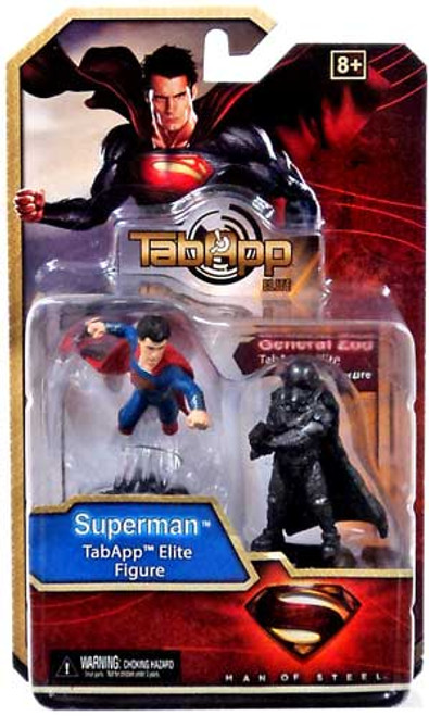 Man of Steel TabApp Elite Superman & General Zod Figure 2-Pack