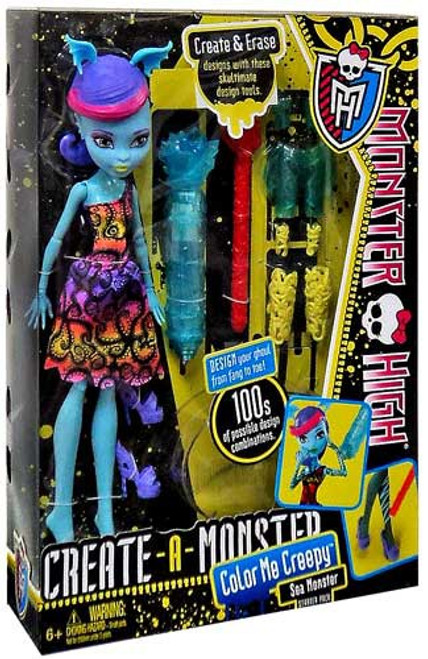 Monster High Create-A-Monster Sea Monster Starter Pack