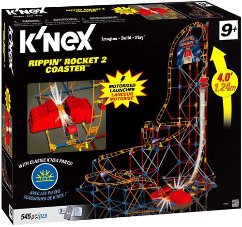 K'Nex Rippin' Rocket 2 Coaster Set #51026
