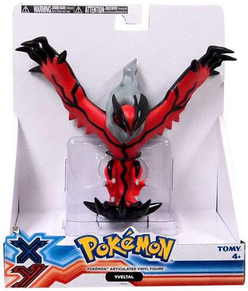 Pokemon Xy Yveltal 7 Articulated Vinyl Figure Tomy Toywiz