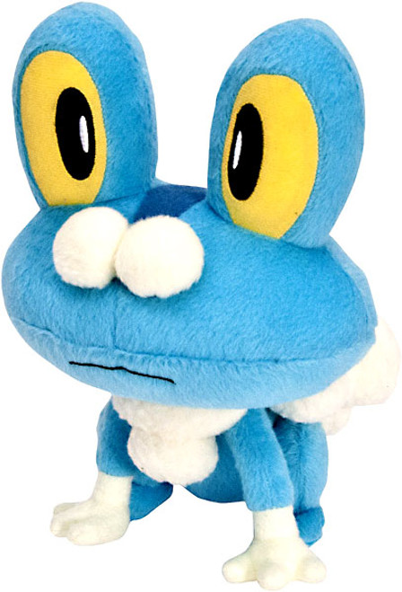 Pokemon XY Froakie 8-Inch Plush [Eyes Wide Open]