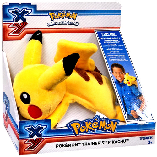 Pokemon XY Beanie Trainer's Pikachu Plush