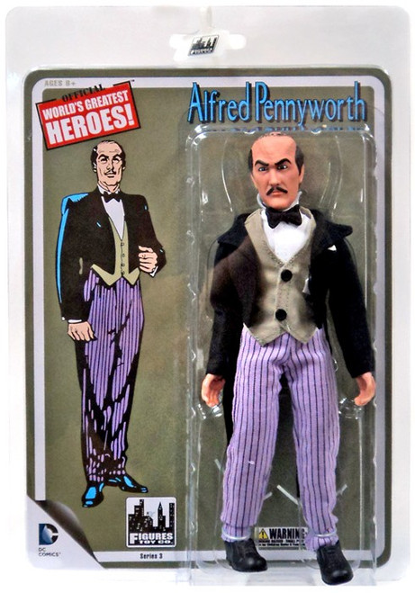 Batman World's Greatest Heroes Series 3 Alfred Action Figure