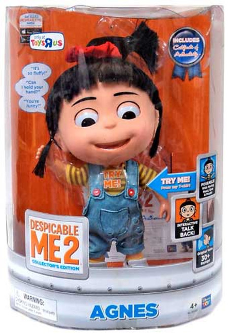 Despicable Me 2 Agnes Exclusive 11-Inch Talking Figure