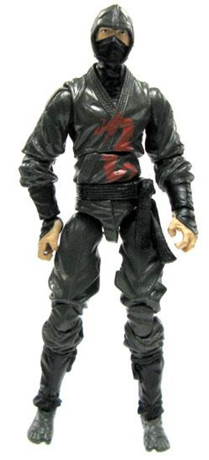 GI Joe Loose Dark Ninja Action Figure [Version 1 Loose]