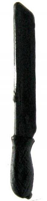 GI Joe Loose Weapons Machete Action Figure Accessory [Black Loose]