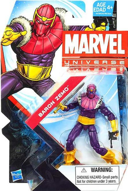 Marvel Universe Series 23 Baron Zemo Action Figure #22