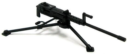 GI Joe Loose Weapons M2 Browning Machine Gun & Tripod Action Figure Accessory [Black Loose]