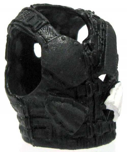 GI Joe Loose Combat Vest with Knife/Blade Sheaths Action Figure Accessory [Black Loose]