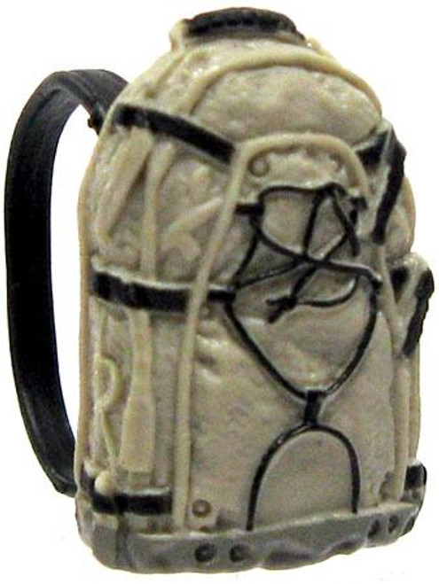GI Joe Loose Small Backpack Action Figure Accessory [Black, Dark Tan & Gray Loose]