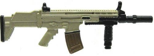 GI Joe Loose Weapons SCAR Action Figure Accessory [Black & Dark Tan Loose]