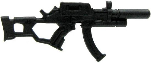 GI Joe Loose Weapons UMP45 with Silencer Action Figure Accessory [Black Loose]