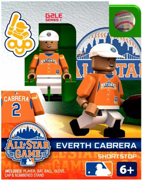 National League MLB Generation 2 Series 1 Everth Cabrera Minifigure