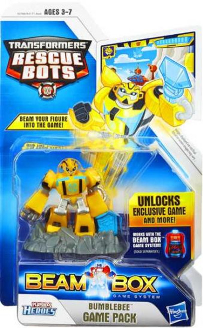 Transformers Rescue Bots Playskool Heroes Bumblebee Game Pack