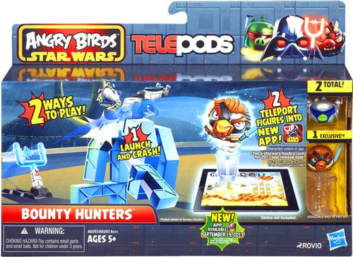 Star Wars Angry Birds Telepods Bounty Hunters Playset