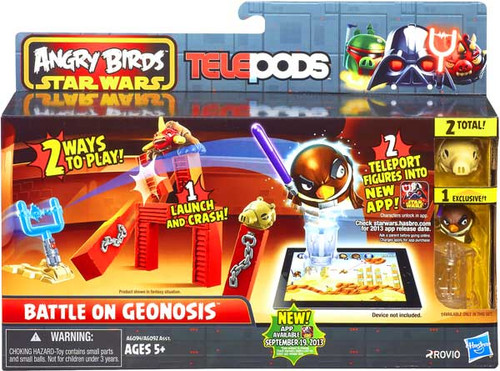 Star Wars Angry Birds Telepods Battle on Geonosis Playset