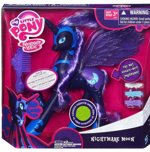 My Little Pony Friendship is Magic Collector Series Nightmare Moon Exclusive Figure