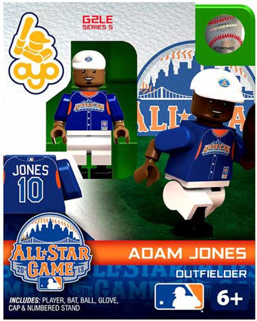 American League MLB Generation 2 Series 5 Adam Jones Minifigure [All-Star Game]