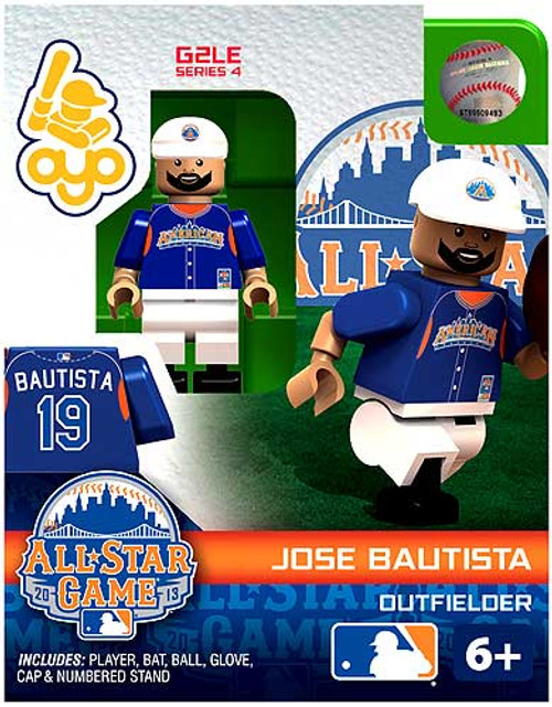 American League MLB Generation 2 Series 4 Jose Bautista Minifigure [All-Star Game]