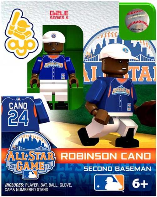 American League MLB Generation 2 Series 5 Robinson Cano Minifigure [All-Star Game]