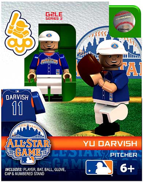 American League MLB Generation 2 Series 3 Yu Darvish Minifigure [All-Star Game]