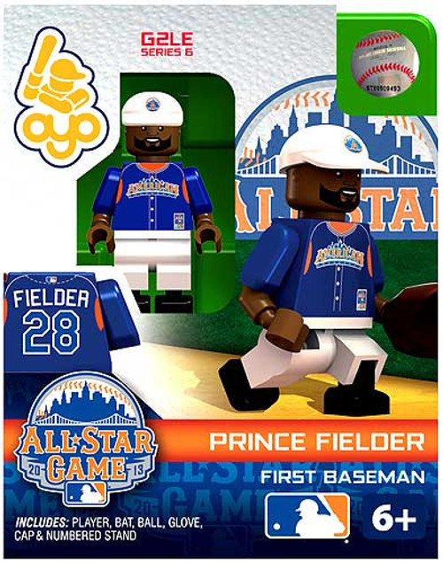 American League MLB Generation 2 Series 6 Prince Fielder Minifigure [All-Star Game]