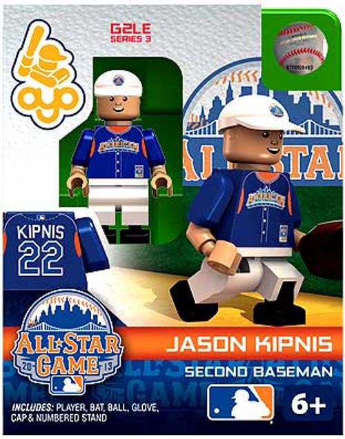 American League MLB Generation 2 Series 3 Jason Kipnis Minifigure [All-Star Game]