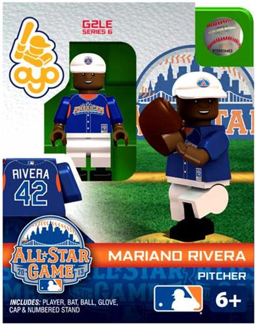 American League MLB Generation 2 Series 6 Mariano Rivera Minifigure [All-Star Game]