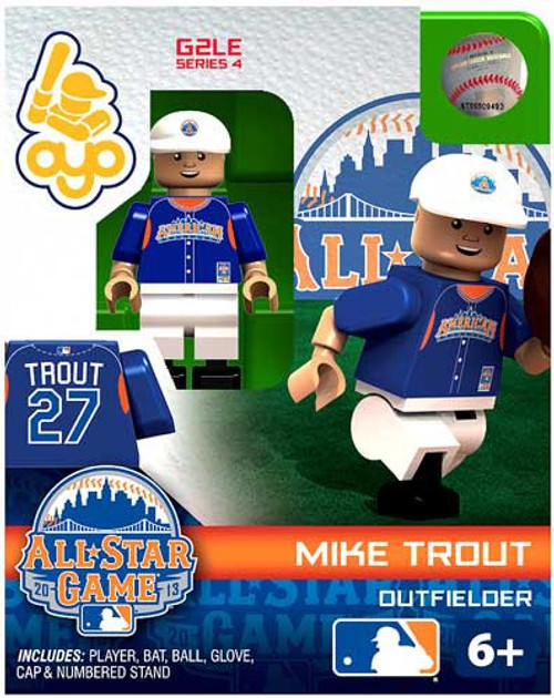 American League MLB Generation 2 Series 4 Mike Trout Minifigure [All-Star Game]