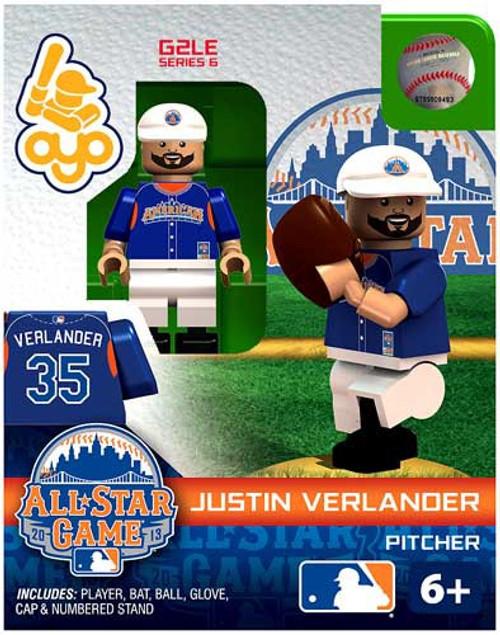 American League MLB Generation 2 Series 6 Justin Verlander Minifigure [All-Star Game]