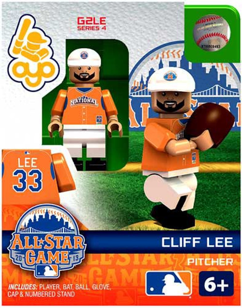 National League MLB Generation 2 Series 4 Cliff Lee Minifigure [All-Star Game]