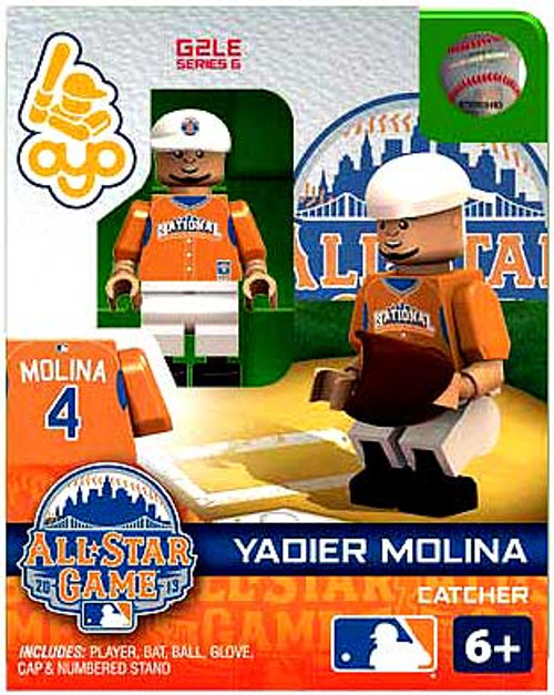 National League MLB Generation 2 Series 6 Yadier Molina Minifigure [All-Star Game]