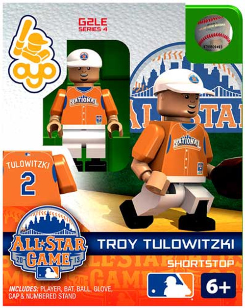 National League MLB Generation 2 Series 4 Troy Tulowitzki Minifigure [All-Star Game]