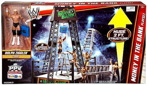 WWE Wrestling Playsets Money in The Bank Exclusive Action Figure Playset