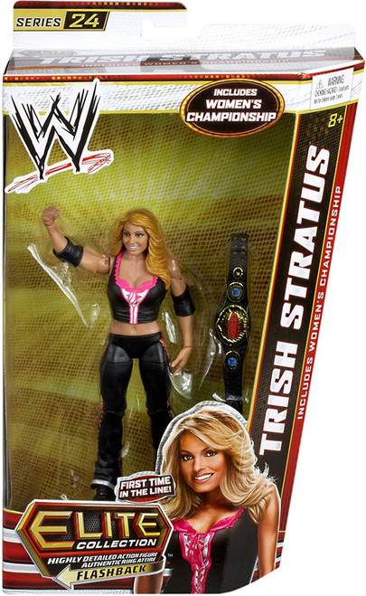 WWE Wrestling Elite Series 24 Trish Stratus Action Figure [Women's Championship]