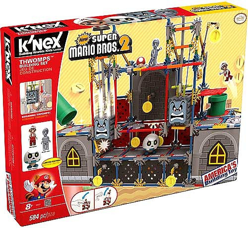 K'NEX New Super Mario Bros 2 Thwomps Exclusive Set #38527