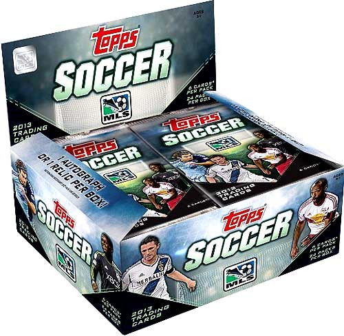 2013 Topps MLS Soccer Booster Box