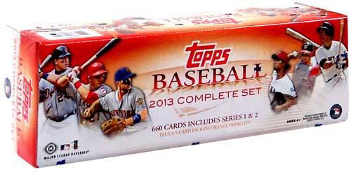 MLB 2013 Series 1 & 2 Series 1 & 2 Complete Set