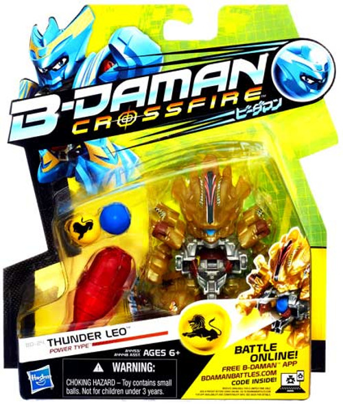 B-Daman Crossfire Thunder Leo Figure BD-24 [Power Type]
