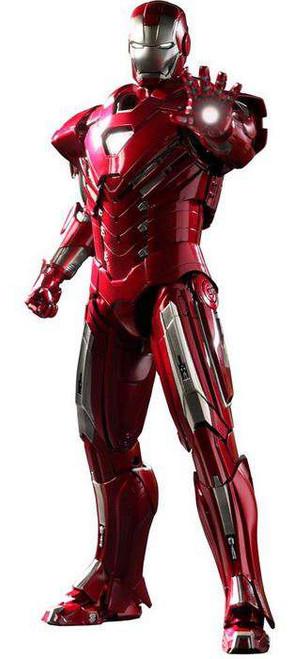 Iron Man 3 Movie Masterpiece Iron Man Mark 33 Silver Centurion 1/6 Collectible Figure