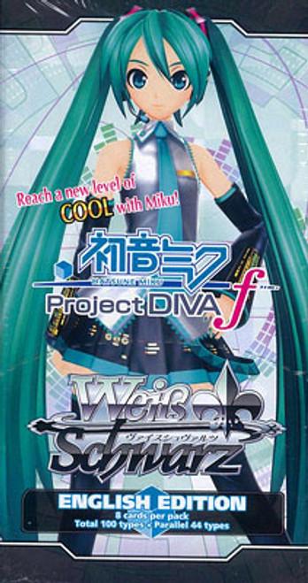 Weiss Schwarz Project Diva Vocaloid Booster Pack