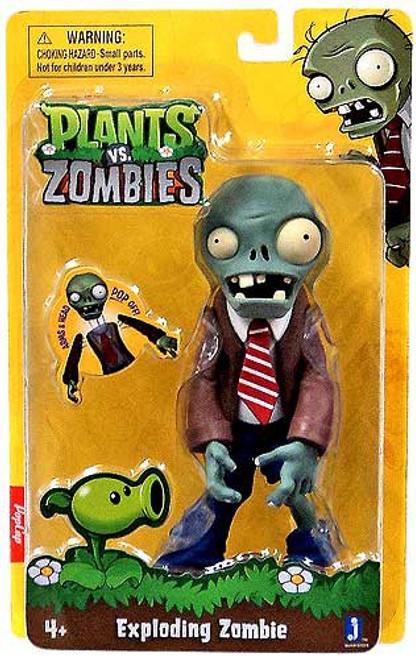 Plants vs. Zombies Exploding Zombie Action Figure