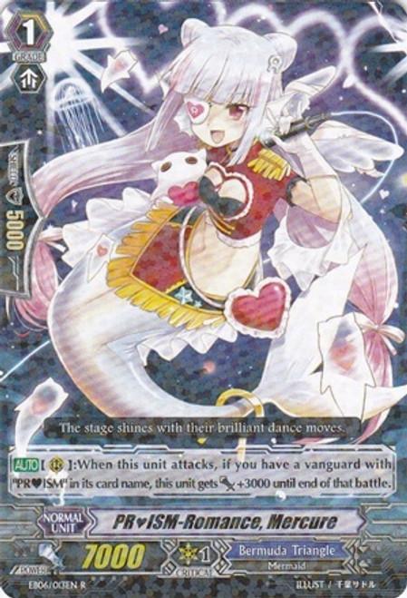 Cardfight Vanguard Dazzling Divas Rare PRISM-Romance, Mercure EB06/013