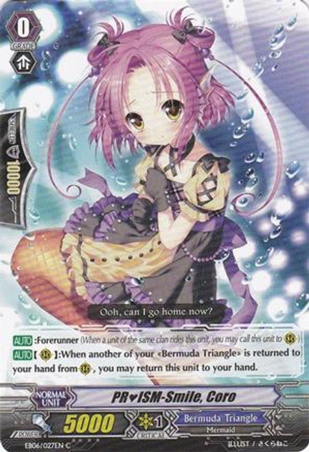 Cardfight Vanguard Dazzling Divas Common PRISM-Smile, Coro EB06/027