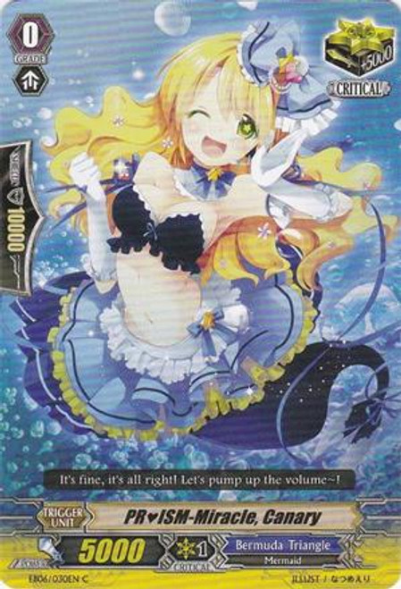 Cardfight Vanguard Dazzling Divas Common PRISM-Miracle, Canary EB06/030