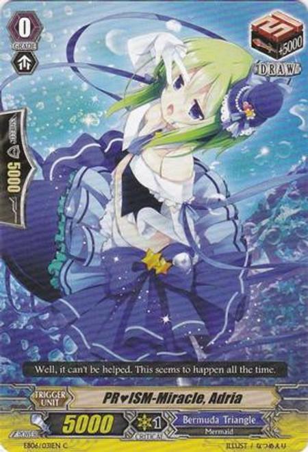 Cardfight Vanguard Dazzling Divas Common PRISM-Miracle, Adria EB06/031