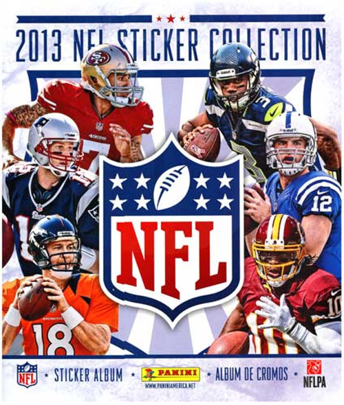 2013 NFL Sticker Collection Sticker Album
