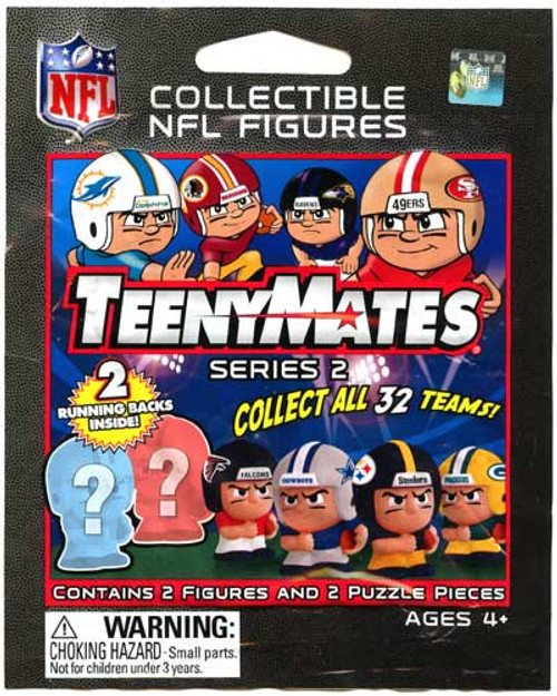 NFL TeenyMates Series 2 Running Backs Mystery Pack